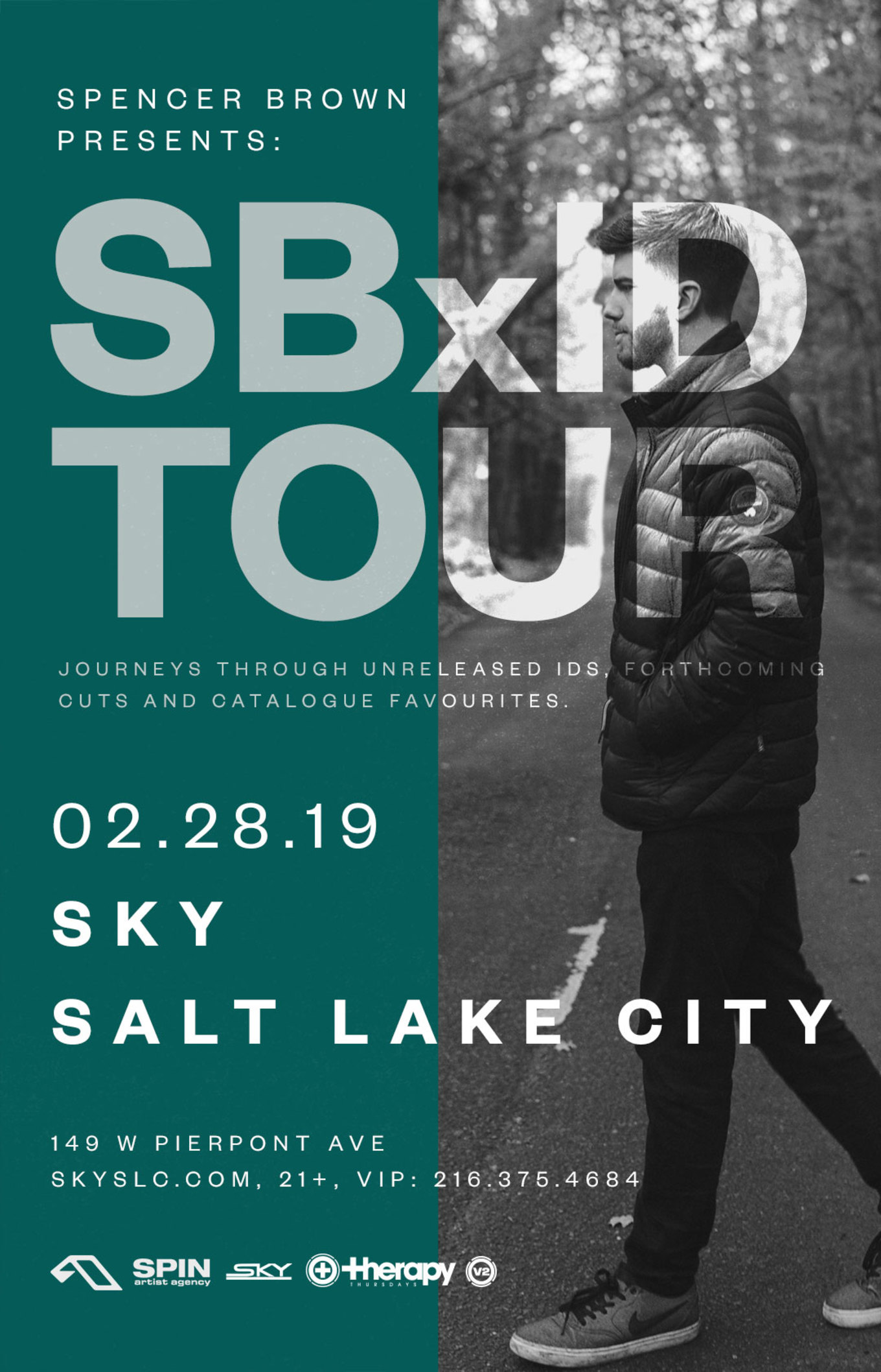 Therapy Thursdays Spencer Brown Tickets Sky Slc Salt Lake