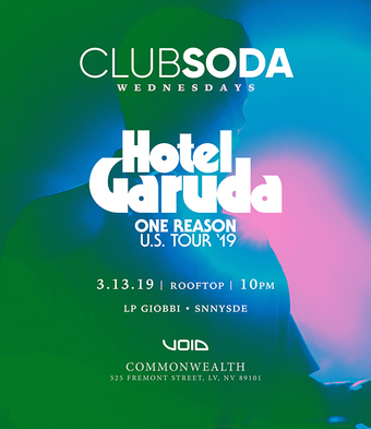 Club Soda w/ HOTEL GARUDA