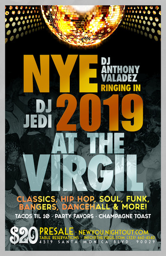 New Year's Eve at The Virgil