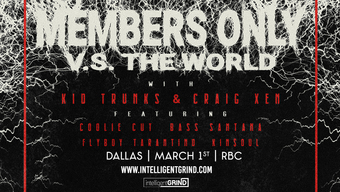 MEMBERS ONLY VS. THE WORLD TOUR""
