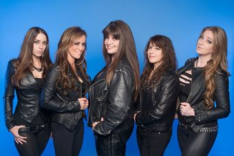 The Iron Maidens (All female tribute to Iron Maiden)