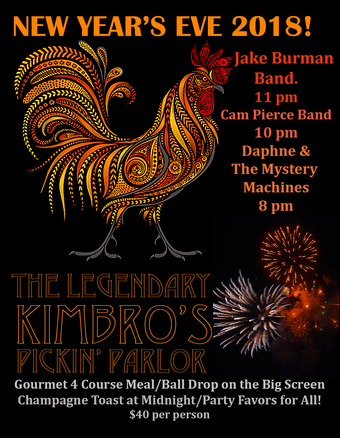 New Year's Eve Bash at Kimbros