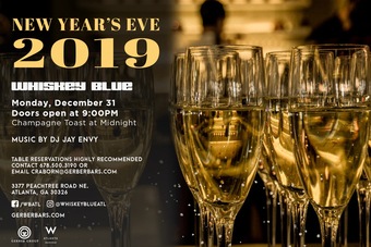 Whiskey Blue New Years Eve Party