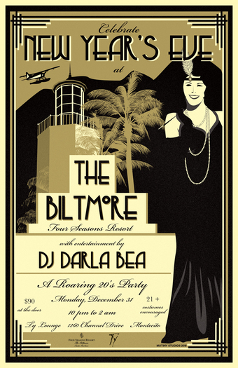 Roaring 1920's New Year's Eve at The Biltmore
