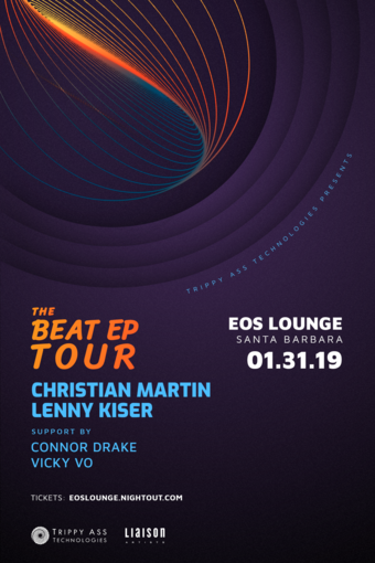 Christian Martin & Lenny Kiser at EOS Lounge 1.31.19
