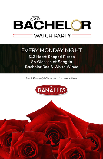 The Bachelor Watch Party at Ranalli's 2019