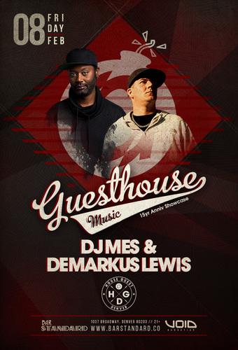 DJ Mes + Demarkus Lewis