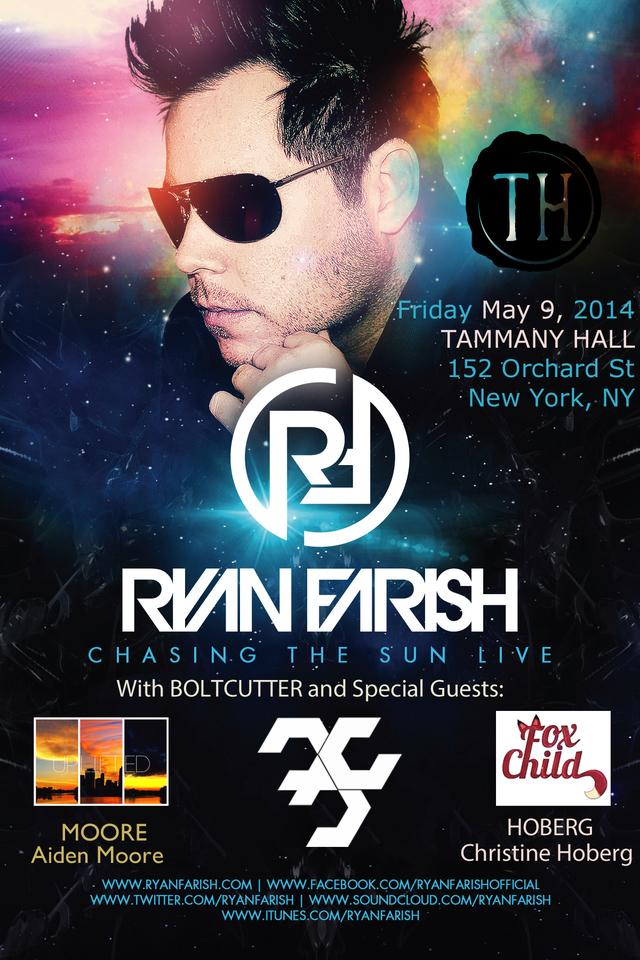 Ryan Farish - Live in NYC