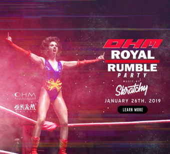 CLUB DV8's Royal Rumble Party w/ Skratchy