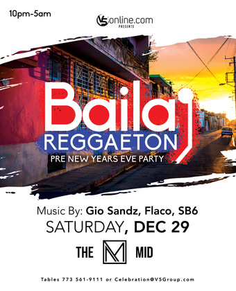 Baila Reggaeton @ The MID