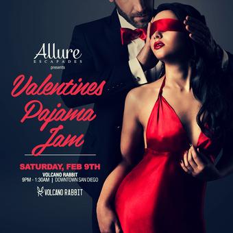 Allure Escapades Presents Valentine's Day Pajama Jam