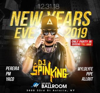 NYE at Melrose Ballroom