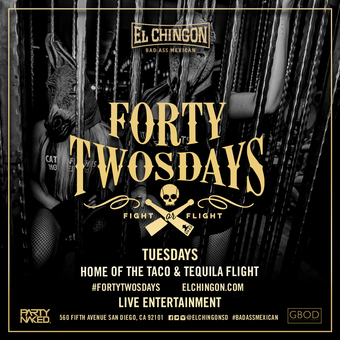 Forty-Twosdays at El Chingon