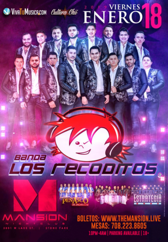 Los Recoditos at Mansion Nightclub
