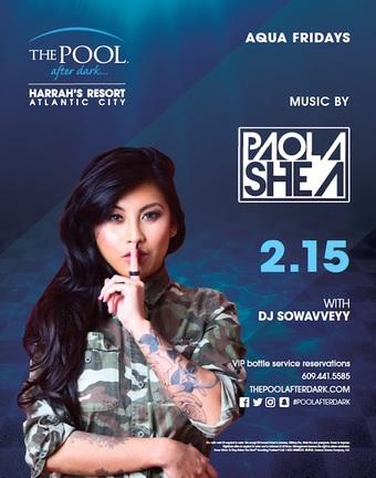 Aqua Fridays featuring DJ Paola Shea