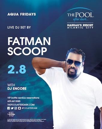Aqua Fridays with Fatman Scoop