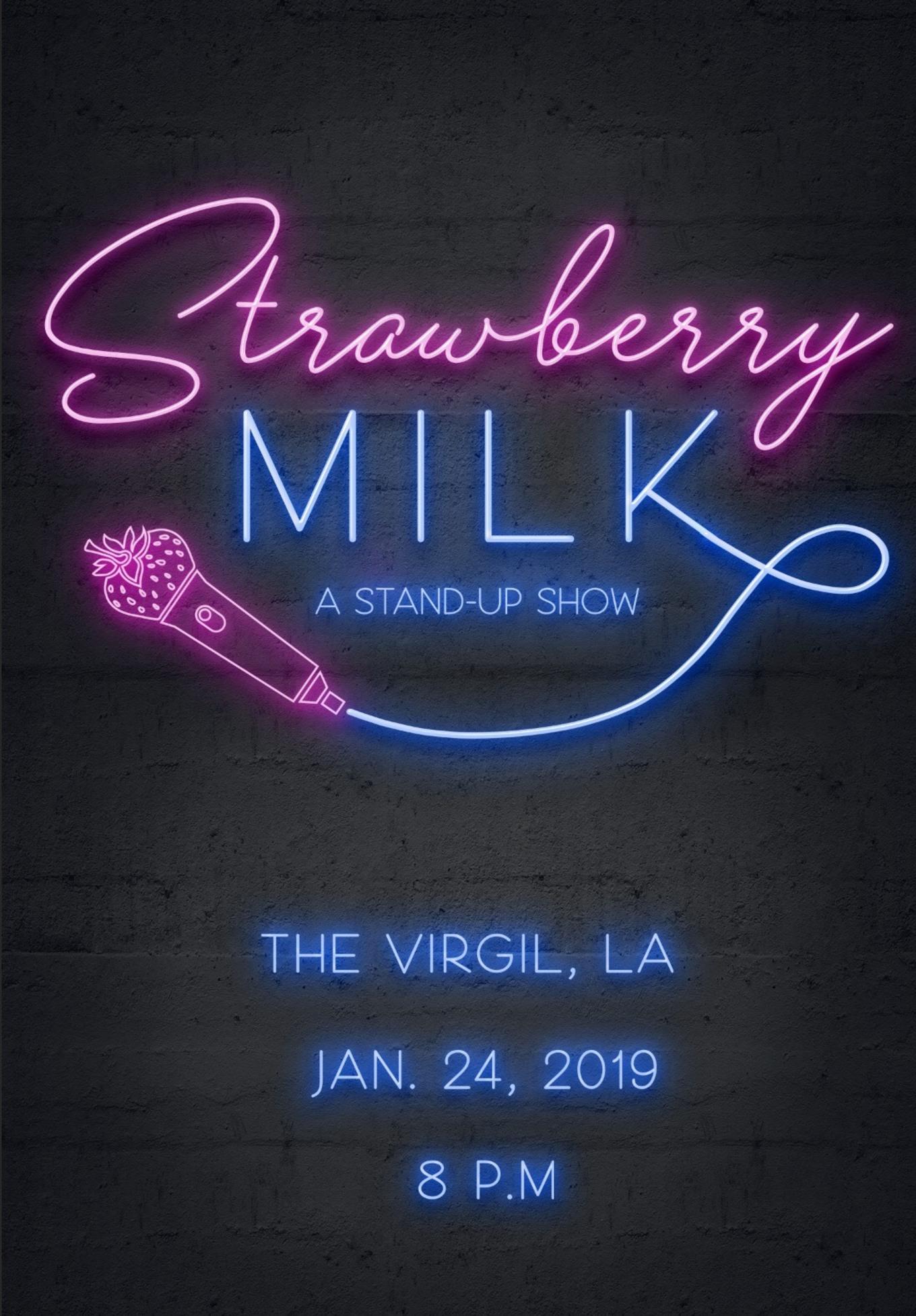 Strawberry Milk - Tickets - The Virgil, Los Angeles, CA