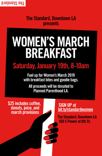 Women's March Breakfast