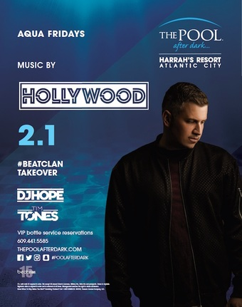 Aqua Fridays featuring #Beatclan Takeover with DJ Hollywood