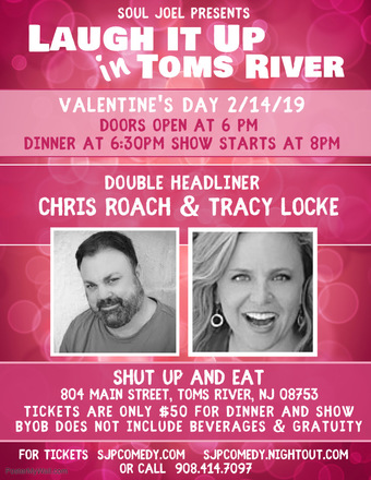 Laugh It Up In Toms River Valentine's Day