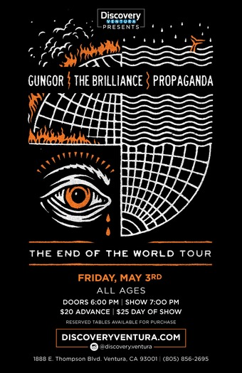 Gungor x The Brilliance x Propaganda The End Of The World Tour at Discovery Ventura