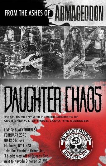 Blackthorn 51 6 yr anniversary w/ Daughter Chaos