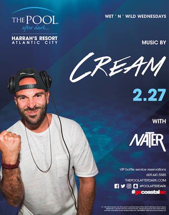 Wet 'N' Wild Wednesdays featuring DJ Cream