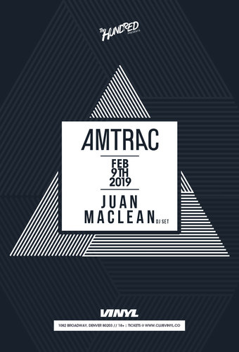 Amtrac + Juan MacLean DJ Set
