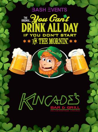 Kincade's Bar & Grill: 9:00am - 1:00pm #YCDAD