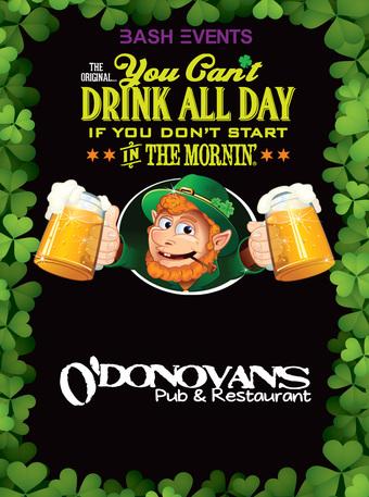 O'Donovan's Pub & Restaurant: 9:00am - 1:00pm #YCDAD