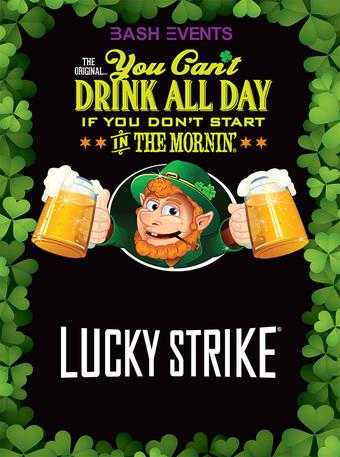 Lucky Strike: 9:00am - 1:00pm #YCDAD