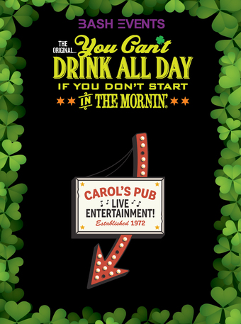 Carol's Pub: 10:00am - 2:00pm #YCDAD