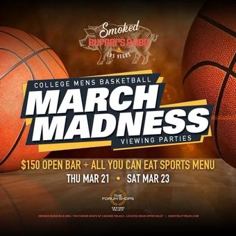 Smoked Burgers & BBQ Tourney Madness