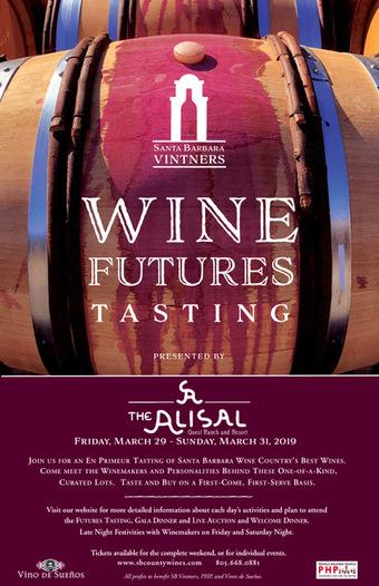 Santa Barbara Vintners Wine Futures Tasting