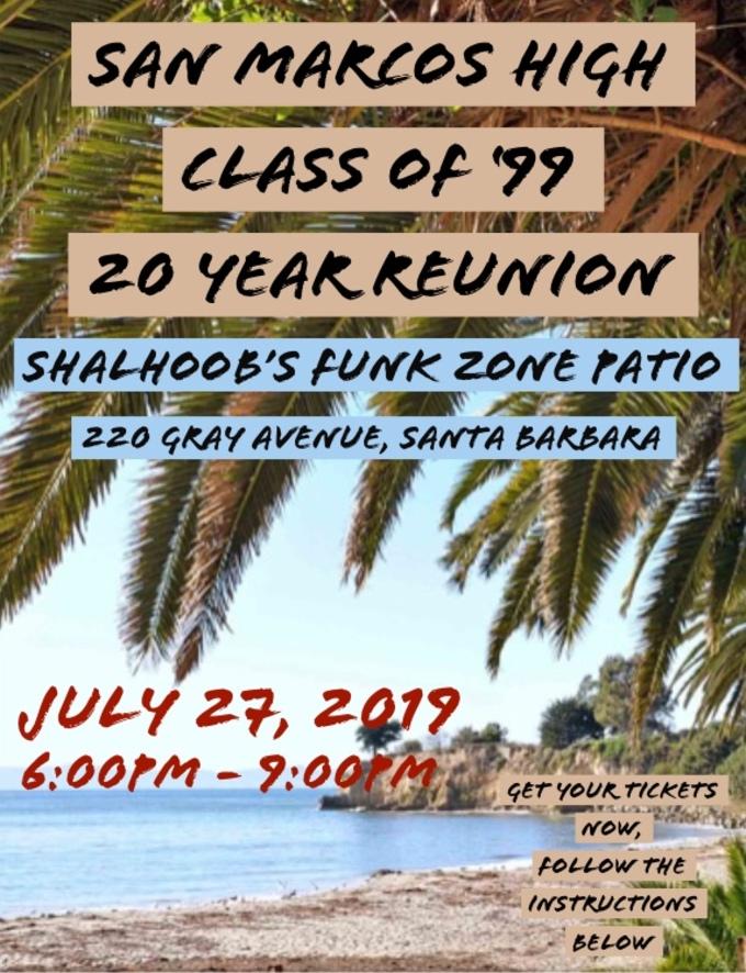 San Marcos High Class of '99 Reunion
