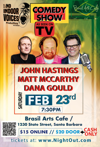 """AS SEEN ON TV"" COMEDY SHOW! Dana Gould"