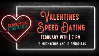 Cerveceria Colorado Valentines Speed Dating