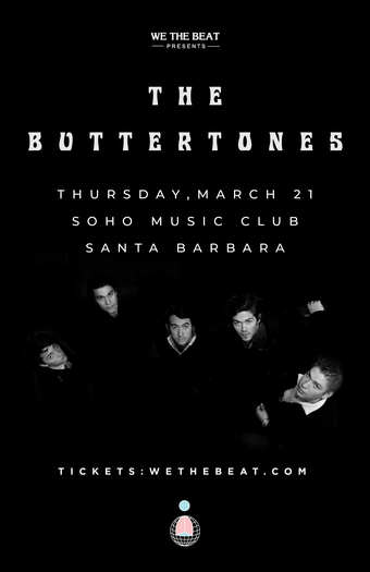 The Buttertones - Santa Barbara, CA