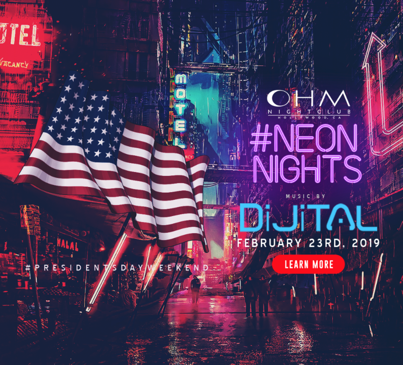 Mwwb Tour With Ohmms In February: CLUB DV8's #NeonNights With DiJiTAL