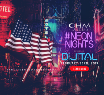 CLUB DV8's #NeonNights with DiJiTAL