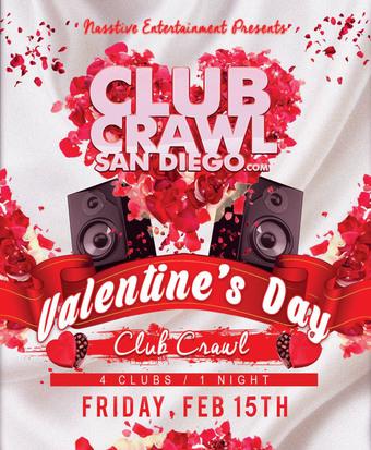 Valentine's Day Club Crawl