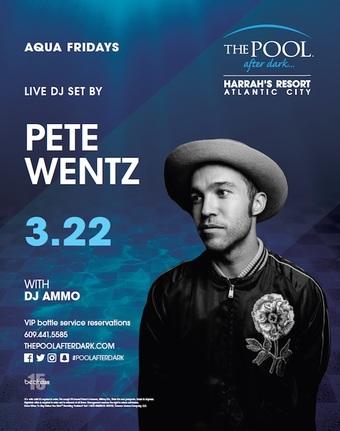 Aqua Fridays featuring Pete Wentz