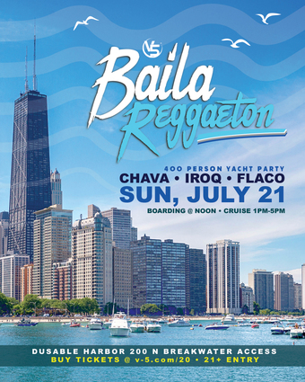 Baila Reggaeton Yacht Party