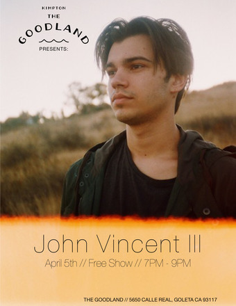 The Goodland Presents: John Vincent III