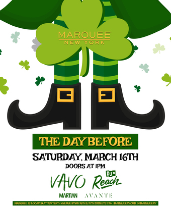 St Patrick's Day at Marquee NY