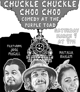 Chuckle Chuckle Choo Choo! Standup Comedy w/ AJ Finney & Friends