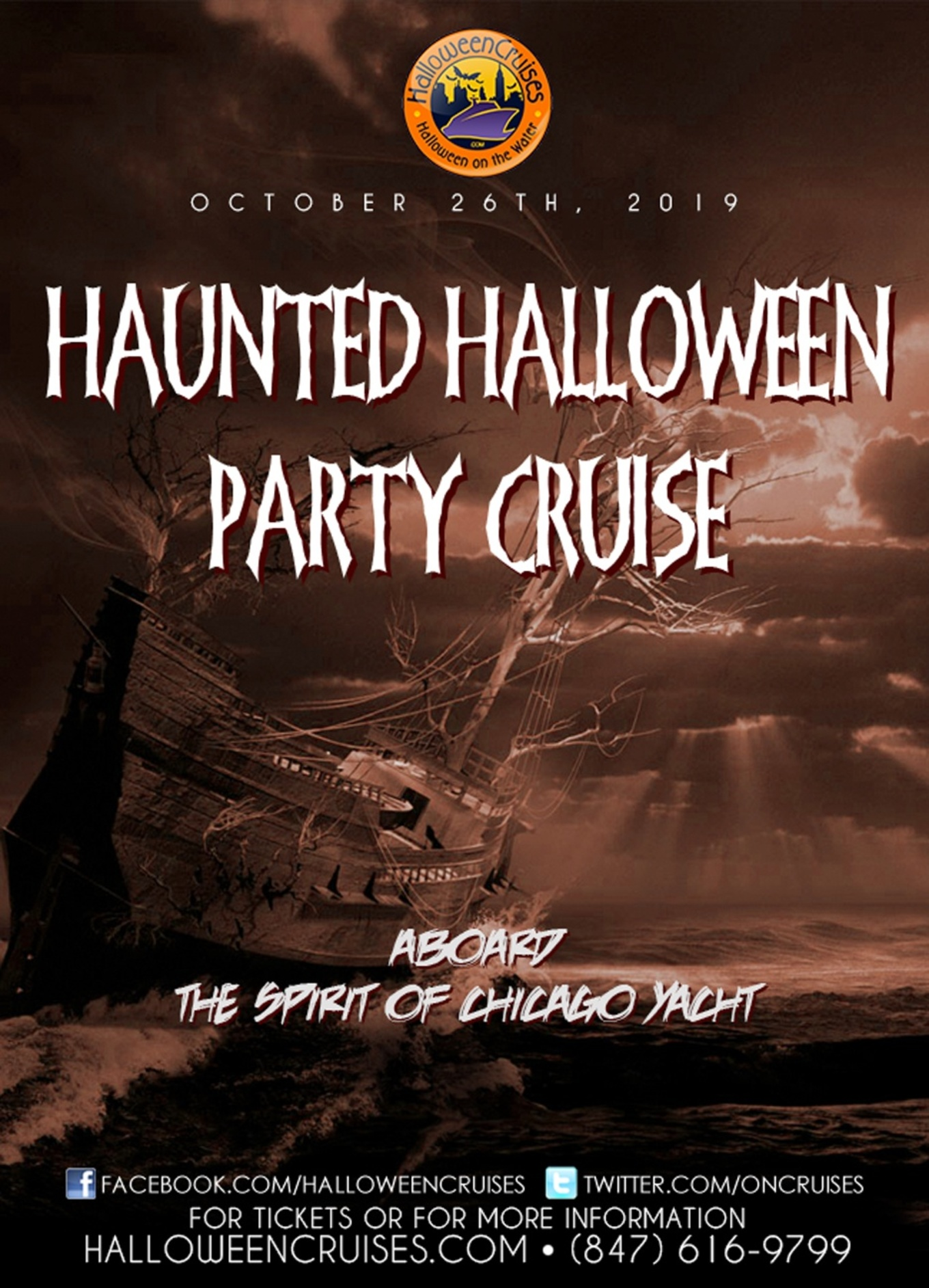 The Haunted Halloween Party Cruise aboard the Spirit of