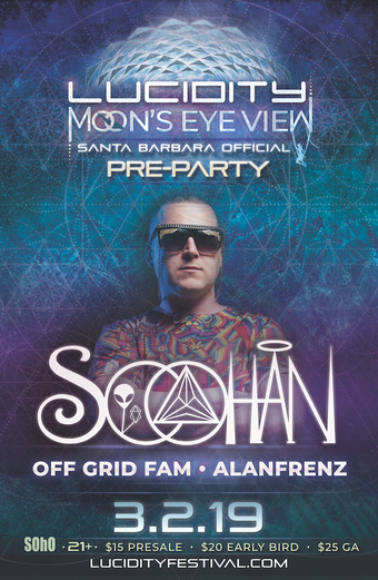 Lucidity Presents: Moon's Eye View Official Pre Party