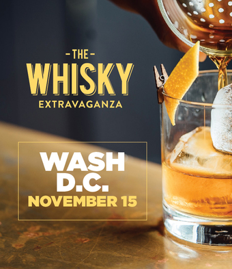 THE WHISKY EXTRAVAGANZA: WASH D.C.