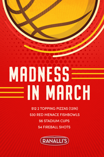 Madness in March at Ranalli's